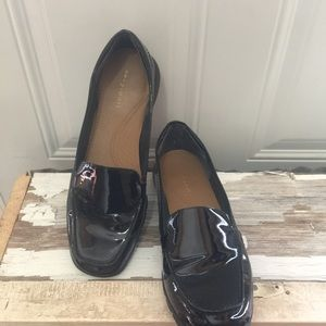 Easy Spirit Patent Leather Black Shoes 9M
